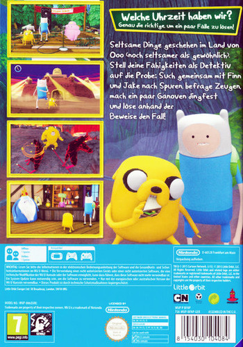 Adventure Time: Finn und Jake auf Spurensuche WiiU backM (BFNPVZ)