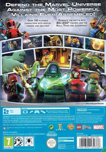 LEGO Marvel's Avengers WiiU backM (ALRPWR)