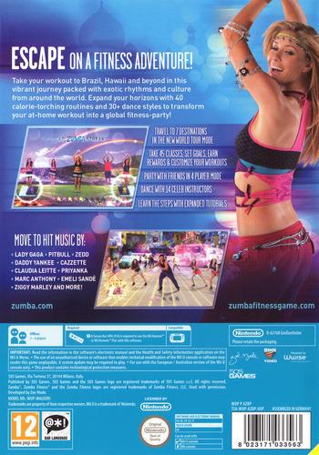 Zumba Fitness World Party WiiU backM (AZBPGT)