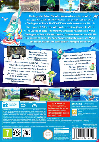 The Legend of Zelda: The Wind Waker HD WiiU backM (BCZP01)