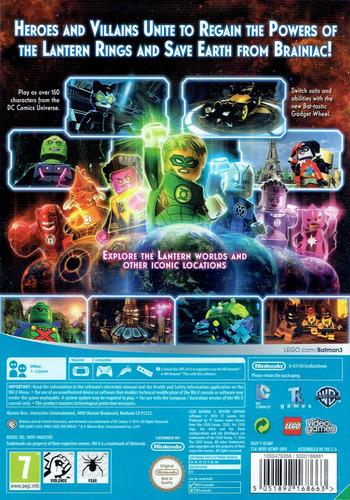 LEGO Batman 3: Beyond Gotham WiiU backM (BTMPWR)