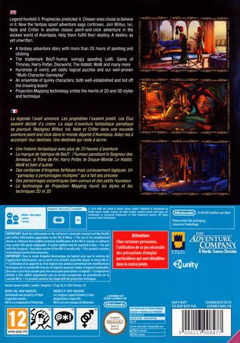 The Book of Unwritten Tales 2 WiiU backM (BUTP6V)