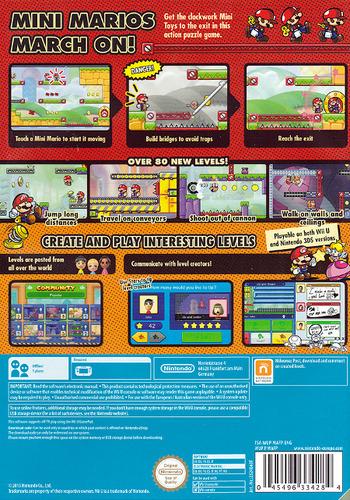 Mario vs. Donkey Kong: Tipping Stars WiiU backM (WAFP)