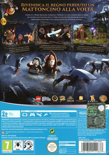 LEGO Lo Hobbit WiiU backM (ALHPWR)