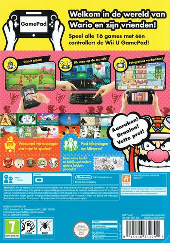 Game & Wario WiiU backM (ASAP01)
