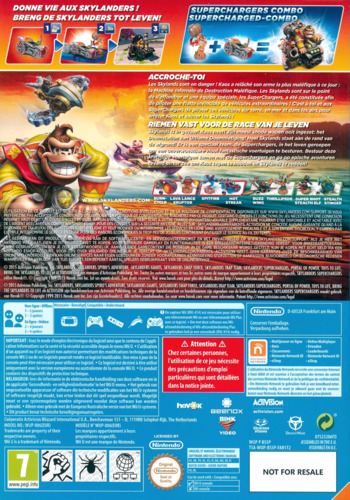 Skylanders: SuperChargers WiiU backM (BS5P52)