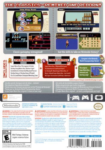 NES Remix Pack WiiU backM (AFDE01)