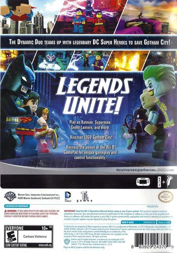 LEGO Batman 2: DC Super Heroes WiiU backM (ALBEWR)
