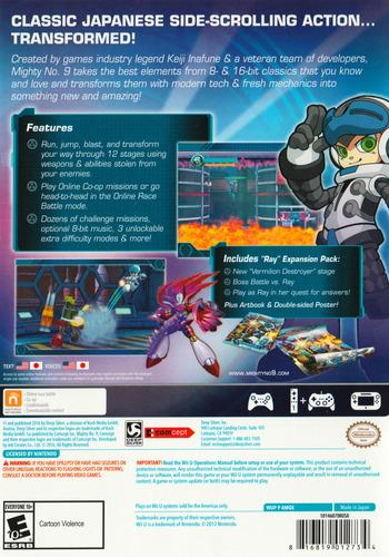 Mighty No. 9 WiiU backM (AMQEJJ)