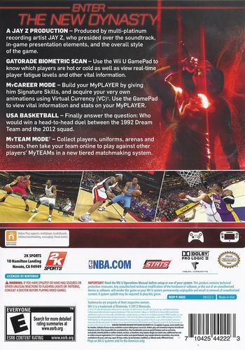 NBA 2K13 WiiU backM (ANBE54)