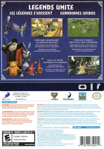 Rise of the Guardians WiiU backM (ARGEG9)