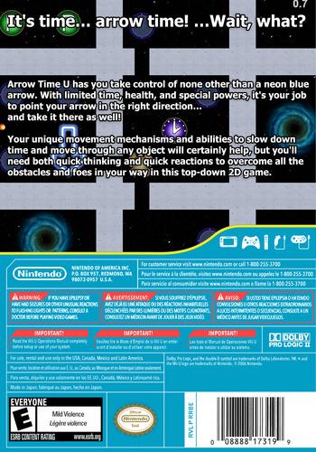 Arrow Time U WiiU backM (ARUE)