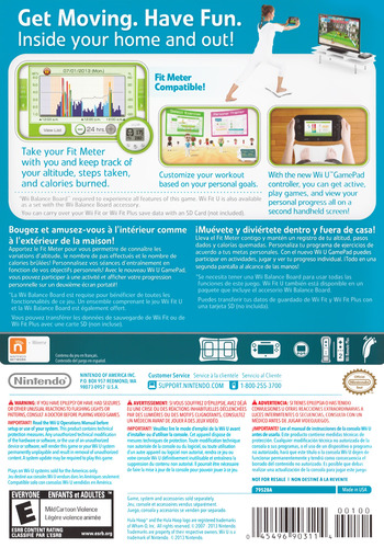Wii Fit U WiiU backM (ASTE01)