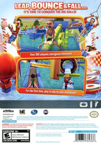 Wipeout 3 WiiU backM (AW3E52)