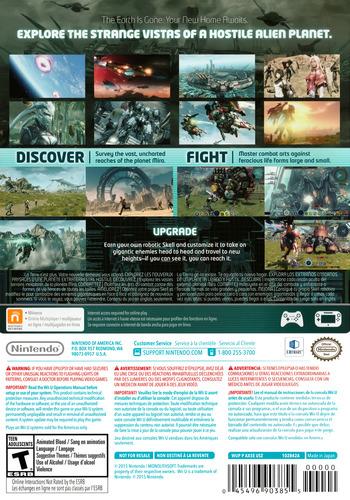 Xenoblade Chronicles X WiiU backM (AX5E01)