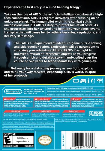 The Fall WiiU backM (BTFE)