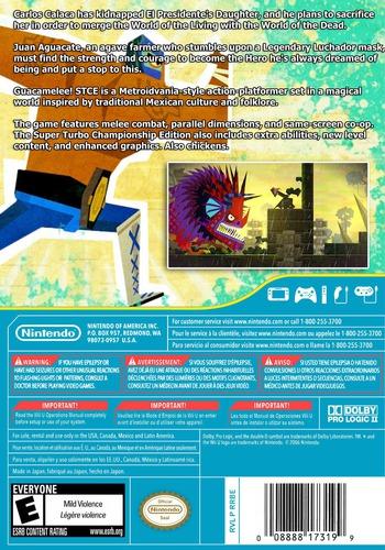 Guacamelee! Super Turbo Championship Edition WiiU backM (WGCE)