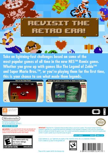 NES Remix WiiU backM (WMGE)