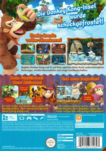 Donkey Kong Country: Tropical Freeze WiiU backM2 (ARKP01)