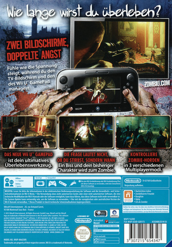 ZombiU WiiU backM2 (AZUD41)