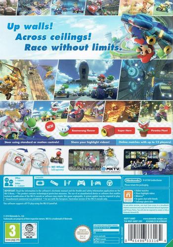 Mario Kart 8 WiiU backMB (AMKP01)