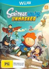Scribblenauts Unmasked:a DC Comics Adventure WiiU cover (ADCPWR)