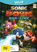 Sonic Boom: Rise of Lyric WiiU cover (BSSP8P)
