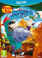 Phineas and Ferb: Quest for Cool Stuff WiiU cover (APFPGT)
