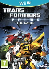 Transformers Prime: The Game WiiU cover (ATRP52)