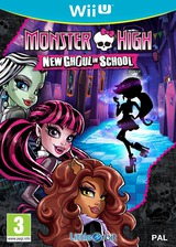 Monster High: New Ghoul in School WiiU cover (BMSPVZ)