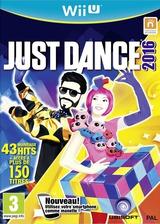 Just Dance 2016 pochette WiiU (AJ6P41)