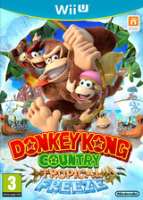 Donkey Kong Country: Tropical Freeze pochette WiiU (ARKP01)