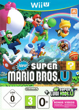New Super Mario Bros. U + New Super Luigi U pochette WiiU (ATWP01)