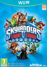 Skylanders: Trap Team WiiU cover (BK7P52)