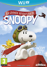 The Peanuts Movie: Snoopy's Grand Adventure WiiU cover (BPEP52)