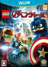 LEGO マーベル アベンジャーズ WiiU cover (ALRJWR)