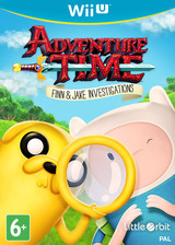 Adventure Time: Finn & Jake Investigations WiiU cover (BFNPVZ)