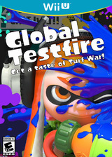 Splatoon Global Testfire Demo eShop cover (AGEA)