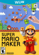 Super Mario Maker WiiU cover (AMAE01)