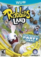 Rabbids Land WiiU cover (ARBE41)