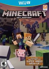 Minecraft: Wii U Edition WiiU cover (AUMEDU)