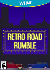 Retro Road Rumble eShop cover (AYRE)