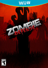 Zombie Defense eShop cover (AZDE)