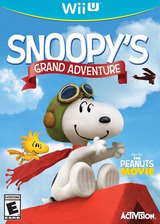 The Peanuts Movie: Snoopy's Grand Adventure WiiU cover (BPEE52)