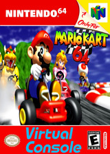 Mario Kart 64 VC-N64 cover (NALE)
