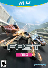 Fast Racing NEO eShop cover (WFSE)