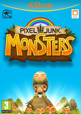 PIXELJUNK MONSTERS eShop cover (BPHP)