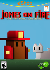 Jones on Fire eShop cover (AJFE)