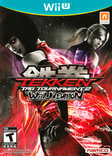 Tekken Tag Tournament 2 WiiU cover (AKNEAF)