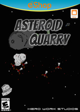 Asteroid Quarry eShop cover (AQYE)